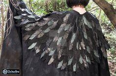 Raven Cloak by TheIronRing.deviantart.com on @DeviantArt