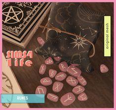 Sailor Moon Wands, Magic Sets, Sims Building, Runes, Sims 4, Louis Vuitton Monogram, The Originals, Create, Pattern