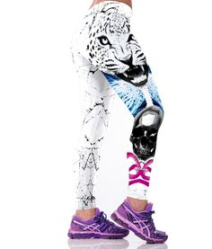 Kaywide 2017 New Sexy Tiger Animal Print Women Sport Leggings Fitness Runnig Push Up Pants Patchwork Elastic Yoga Legging Women's Sports Leggings, Legging Sport, Workout Leggings, Printed Yoga Pants, Printed Leggings, Skull Leggings, Women's Leggings, Jeggings, Tights