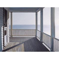 Jim Holland (American artist, born – another good morning – lithograph. Edward Hopper, Holland, Jack Vettriano, Light And Space, Peaceful Places, American Artists, Art History, History Books, Landscape Paintings