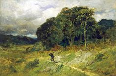 Edward Mitchell Bannister (1828 - 1901) Approaching Storm, 1886