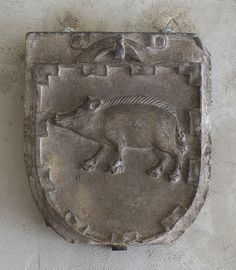 Arms of the Porcelet Family, Saint-Guilhem-le-Déssert near Montpellier, c. late 13th - early 14th century