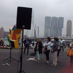 """@lechonsita's photo: """"А у нас день порта! Хор старых морских волков. И немного Роттердама вам. Из моего небольшого голландского - песня-прощание с девушкой. #wereldhavendagen #rotterdam"""""""