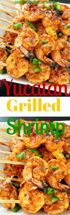 Yucatan Grilled Shrimp -Creole Contessa