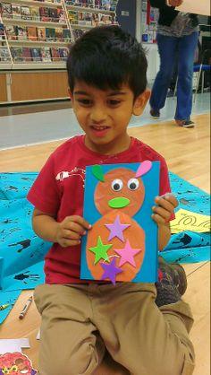 Mukil's bunny card.