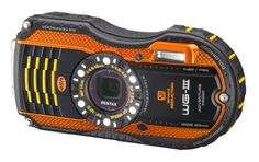 Pentax Optio WG-3 orange 16 MP Waterproof Digital Camera with 4-Inch LCD Screen (Orange) $274.25 #topseller