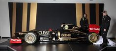 Romain Grosjean (L) and Kimi Raikkonen (R), Lotus E20 launch, Enstone, UK, February 5, 2012