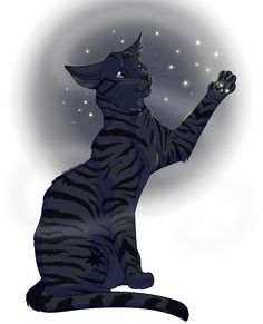 Raventail, feared by all the clans, never lost a battle, loving and caring, and a beautiful she-cat.