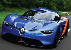 Remodeled Renault Alpine A 110-50 blends in the eminent brand's legacy | Designbuzz : Design ideas and concepts