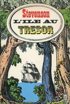 L'ile au tresor, published by Le Livre de Poche, Paris, 1972. Design: Atelier Pierre Faucheux