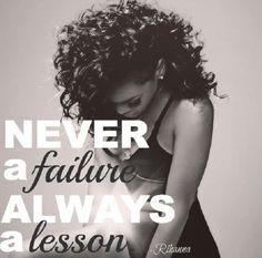 Never A Failure