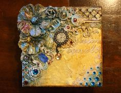 VIDEO TUTORIAL: Mixed Media Steampunk Style Keepsake Box {Bo Bunny}