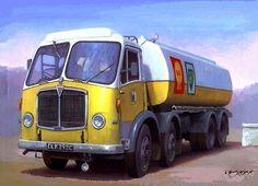 The Mammoth Major Mark V by Mike Jeffries Introduced in 1958 by A.E.C. to replace the trusty Mark III (there was never a Mark IV) and featured many new features including more powerful engines, new cab, improved brakes on all four axles (previously the second steering axle was unbraked!), a choice of rear suspension (two leaf fully articulated or four leaf) and better weight distribution by setting back the front axles. The striking yellow and white livery of Shell/BP was introduced in the…