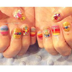 🔥💘info💘🔥 12/13〜16➡︎東京期間限定サロン💅🏻 1/31➡︎paragelアートセミナーin名古屋kalon🎨 2/8➡︎paragelアートセミナーin横浜kalon🎨 *ご予約&詳細は順次お知らせします。 *12/31〜1/5➡︎冬季休暇❄️ #nailsbyyuka * inspired by#miumiu2016 🏳️🌈💗 #nails#naildesign#nailart#miumiu#nailstagram#fashion#paragel#colorful#beautiful#love#美爪#美甲#ネイル#ネイルアート#ショートネイル#ミュウミュウ#ビジュー#名古屋#栄#表参道#南青山#横浜#パラジェル