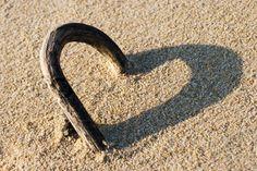 Heart shaped shadow