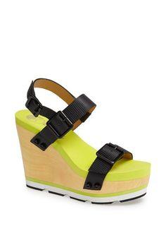 'Claudia' Wedge Platform Sandal