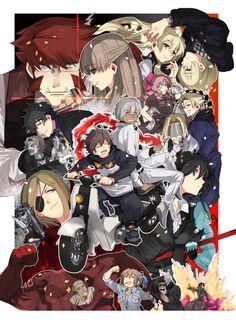 Blood Blockade Battlefront / Kekkai Sensen (血界戦線) -「異界都市の歩き方西3チラシ絵 描かせていただきました」/「たくみ」のイラスト [pixiv]