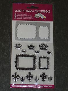 Rahmen Stanzschablonen + Stempel Clear Stamps + Cutting Die von CRAFT SENSATIONS    eBay