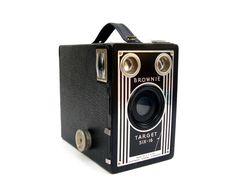 Vintage Cameras Kodak Brownie Target Six 16 by OceansideCastle