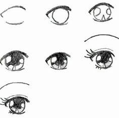 нарисовать девушку аниме поэтапно - Поиск в Google