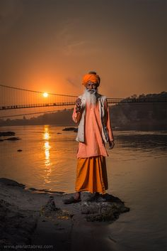 Sadhu - Rishikesh, India