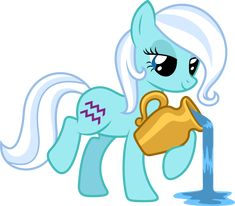 Aquarius Pony :) I'm Aquarius apparently, even though I don't do all the horoscope, future predicting stuff. The personality stuff is mostly  pretty accurate, though!