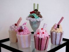 Crochet treats (low fat and high fiber)