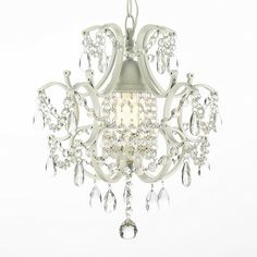small chandelier sure would be pretty over the worktable in my sewing room. Drool.......