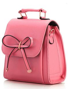 Cute pink backpack