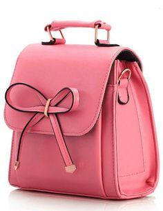 Cute pink backpack