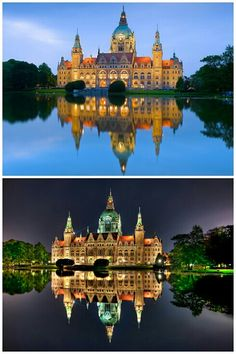 Hannover Rathaus, Hannover, Germany
