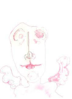 lucas repetto — Desenho, Sem título, Papel A4  Canson (300g/m² 210mm x 297mm), Nanquim, Caneta hidrocor
