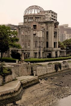 HIROSHIMA, JAPAN ---------------------- I remember this haunting building.. left standing as a reminder of the Atomic bomb....