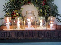Jar Candles. Keep it simple.