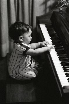 """Getting the """"piano bug"""" early......"""