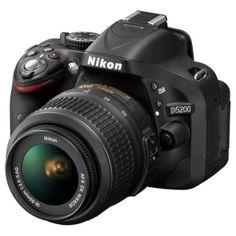 Didiskon 24.1 MP Nikon D5200 Lensa Kit 18-55mm