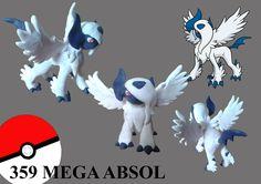 #pokemon #mega absol #fimo