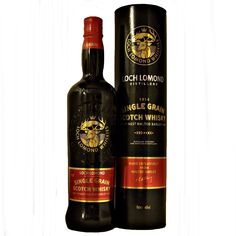 Loch Lomond Single Grain Scotch Whisky made from malted barley Grain Whisky, Whisky Shop, Blended Whisky, Malted Barley, Loch Lomond, Stamford Bridge, Liquid Gold, Scotch Whisky, Distillery