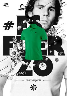 Nike Sportwear Nadal by Roberto Fara, via Behance