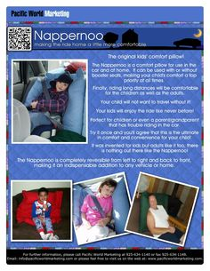 Nappernoo - PacificWorldMarketing.com – Products Available for Licensing