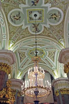 Divinely baroque | St. Petersburg, #Russia