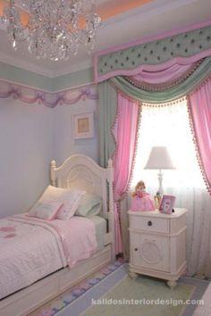 Girl's Bedroom - Kalidos Interior Design