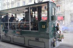 トラム, 蒸気鉄道, 機関車
