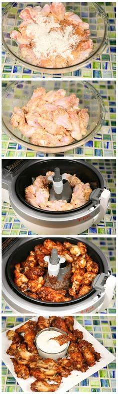 Crispy Garlic Parmesan Chicken Wings Recipe