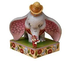 I found ' Disney Traditions designed by Jim Shore for Enesco Dumbo with Timothy Mouse Figurine 8 IN ' on Wish, check it out! Disney Collectibles, Disney Figurines, Collectible Figurines, Pinocchio, Disney Movies, Disney Pixar, Dumbo Disney, Disney Stuff, Disney Ornaments