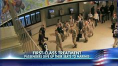 These are the unforgettable moments our Military Personnel deserve!!  Thank You O'Hare!!   http://www.foxnews.com/us/2013/11/06/13-marines-returning-from-afghanistan-get-impromptu-airport-welcome/