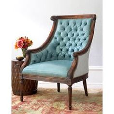 This chair has so much style!