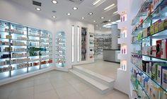 Tsikandilakis.NET, Decoration study, construction, pharmacy design and equipment in the center of Heraklion in Crete, owned by Kokalis Nikolaos