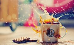 Image via We Heart It #coffee #cup #everywhere #mug #tasty #spilt #sweetcool #starbucks