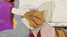 """kusuriuri: """" you could pet me like that too if you wanted, Kusuriuri, i wouldn't mind /// """" Art Manga, Manga Anime, Mononoke Anime, Hotarubi No Mori, Cartoon Books, Matou, Anime Nerd, Anime Demon, Aesthetic Anime"""
